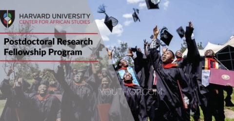 Postdoctoral Research Fellowship Program 2021/22 | Harvard University Center for African Studies