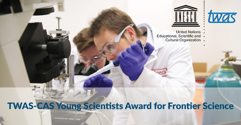 TWAS-CAS Young Scientists Award for Frontier Science