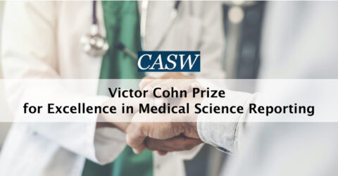 Victor Cohn Prize 2021 for Excellence in Medical Science Reporting | Council for the Advancement of Science Writing