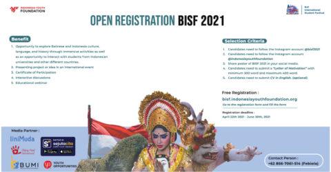 Bali International Student Festival 2021
