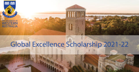 The University of Western Australia Global Excellence Scholarship 2021-22