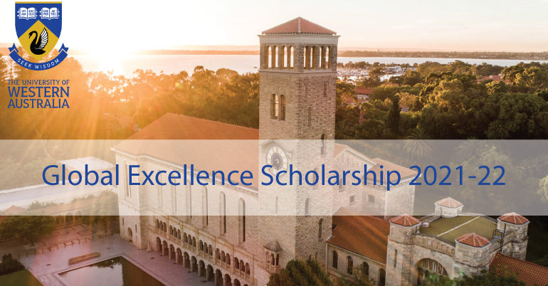 Global Excellence Scholarship 2021-22