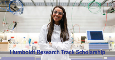 Humboldt Research Track Scholarship 2021