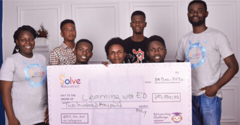 Solve Education Scholarships 2021- Africa's first and Biggest Learning Competition