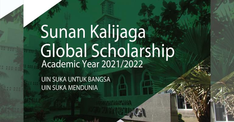 Sunan Kalijaga Global Scholarship 2021-22