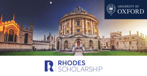 The Rhodes Scholarship at University of Oxford 2021