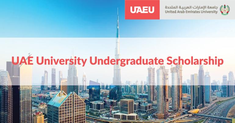 UAE University Undergraduate Scholarship