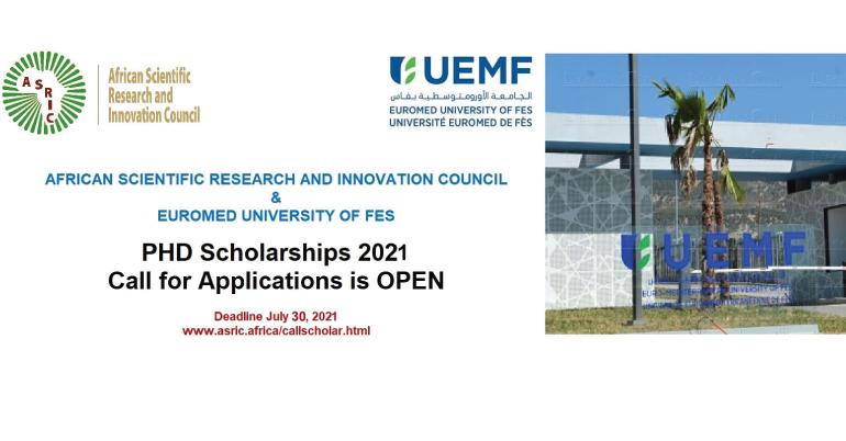 UEMF Scholarship 2021
