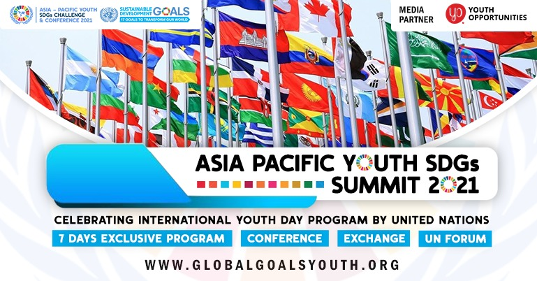 Asia Pacific Youth SDGs Summit 2021 (Online Edition)