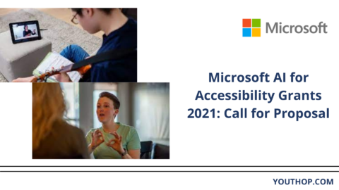 Microsoft AI for Accessibility Grants 2021: Call for Proposal