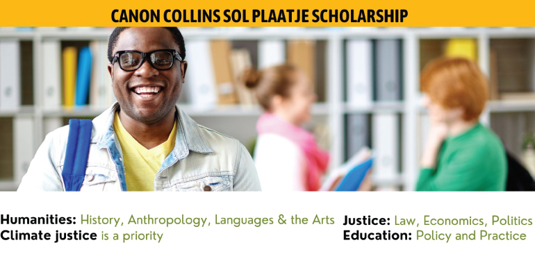Canon Collins Sol Plaatje Scholarships 2022
