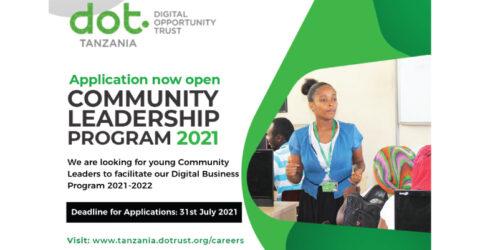 Call for Application: Community Leadership Program 2021-2022