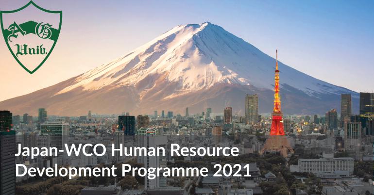 Japan-WCO Human Resource Development Programme 2021
