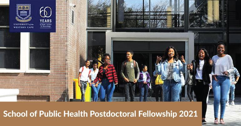 School of Public Health Postdoctoral Fellowship 2021