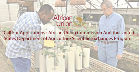 African Union Commission And the United States Department of Agriculture Scientific Exchanges Program 2021