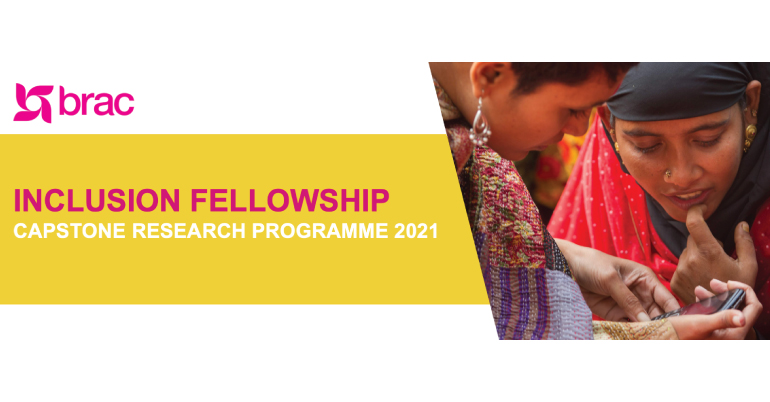 BRAC Inclusion Fellowship