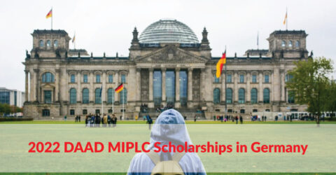 2022 DAAD MIPLC Scholarships in Germany for Students from Developing Countries