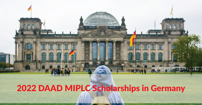 2022 DAAD MIPLC Scholarships in Germany