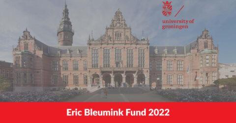 Eric Bleumink Fund 2022 in University of Groningen