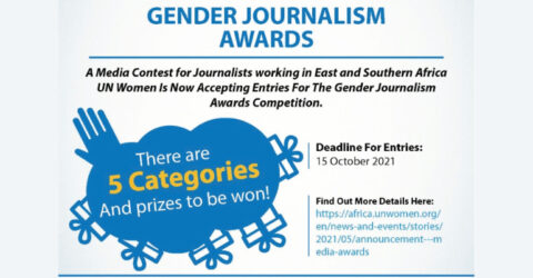 Call for Entries : 2021 Gender Journalism Awards Competition