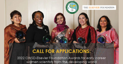 Call for Applications: 2022 OWSD-Elsevier Foundation Awards