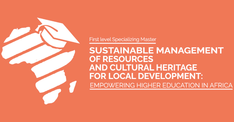 Specializing Master in Sustainable Management of Resources and Cultural Heritage for Local Development