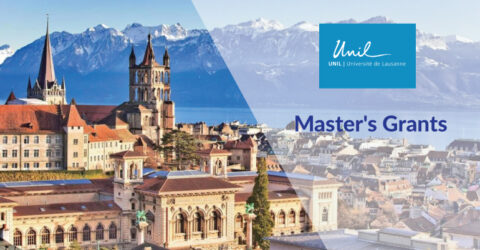 UNIL Master's Grants 2021 at The University of Lausanne
