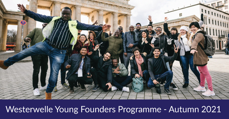 Westerwelle Foundation Young Founders Programme Autumn 2021
