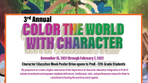 Color The World With Character Poster Drive 2021