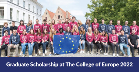 Graduate Scholarship at The College of Europe 2022