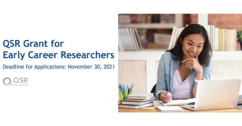 QSR Research Grant for Early Career Researchers