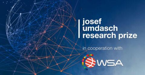 Josef Umdasch Research Prize 2022