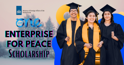 'Enterprise for Peace' – Dutch Ministry of Foreign Affairs Scholarship 2022 | One Young World
