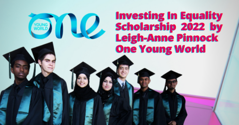 One Young World | Investing In Equality Scholarship 2022 (Fully Funded)