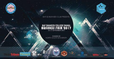 BAF Shaheen College Dhaka Business Fair 2017 in Dhaka