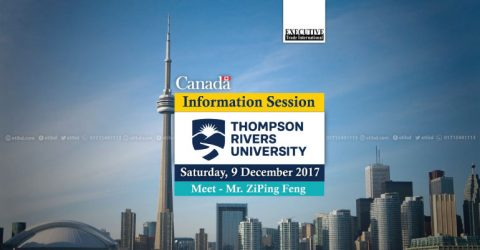 Meet Thompson Rivers University, Canada in Dhaka