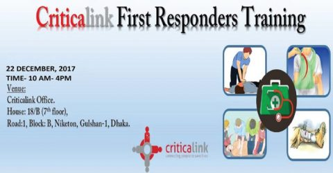 CriticaLink First Responders Training 2017 in Dhaka