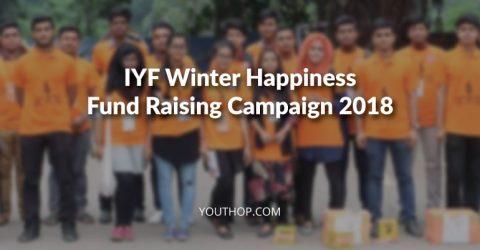 IYF Winter Happiness Fund Raising Campaign 2018