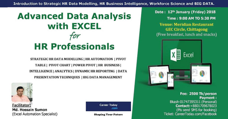 Advanced Data Analysis With Excel For Hr Professionals  In