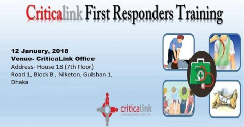 Criticalink First Responders Training 2018 in Dhaka