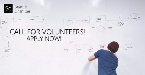Call for Volunteer 2018 at Startup Chamber