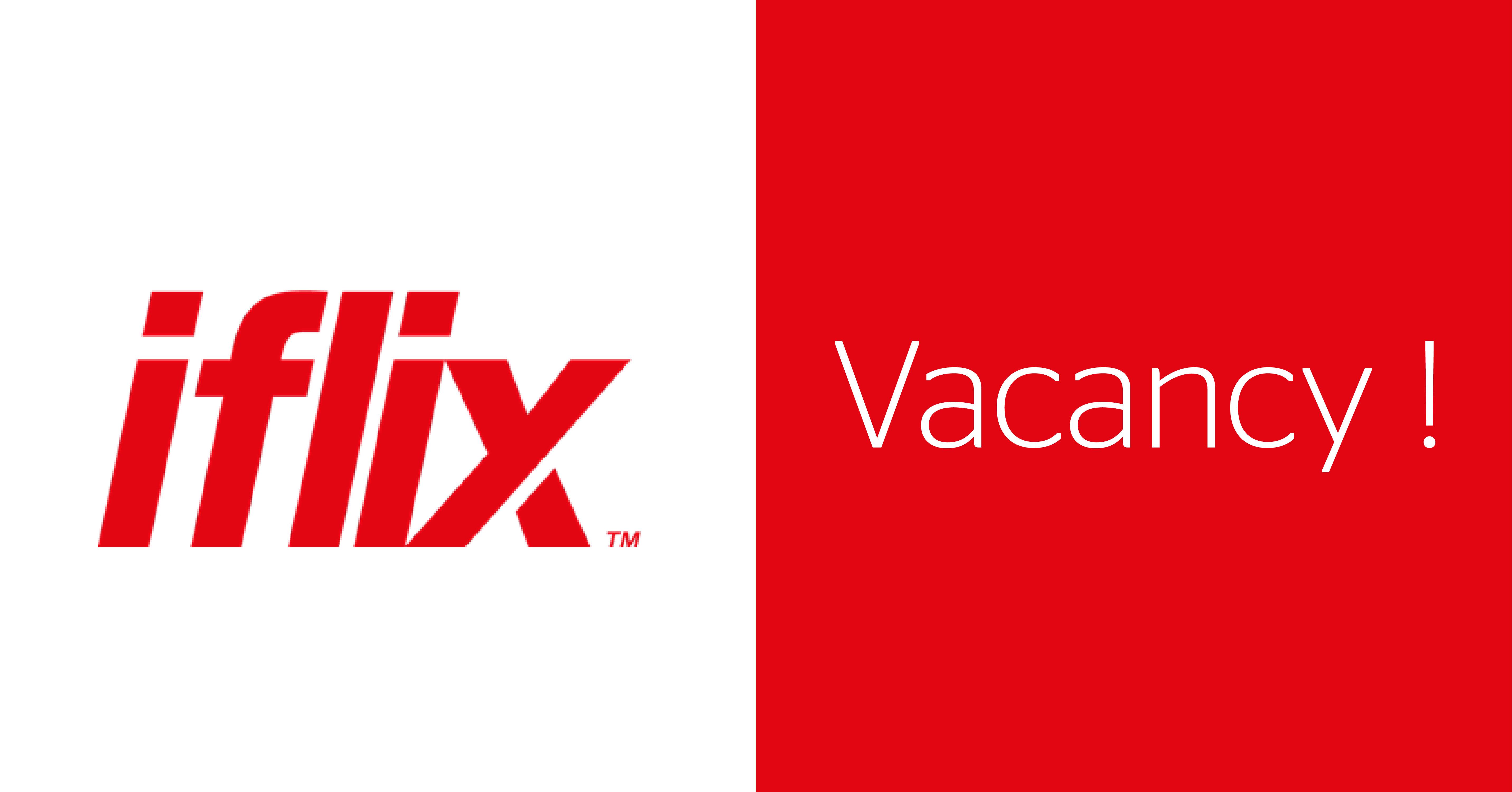 Vacancy at iflix