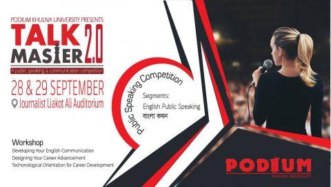 Podium Khulna University: Talk Master 2.0