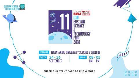 11th EUSCIAN Science & Technology Fair – 2018 in Dhaka