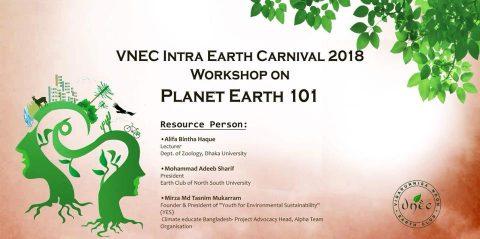 VNEC Intra Earth Carnival- 2018 in Dhaka