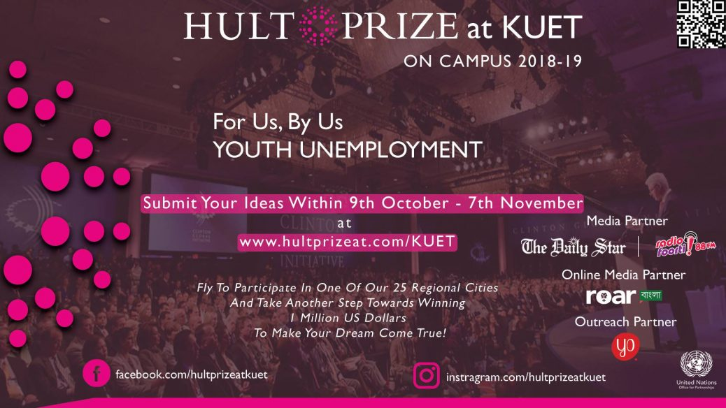 Hult Prize at KUET - 1,000,000 US DOLLAR for the Champion Team