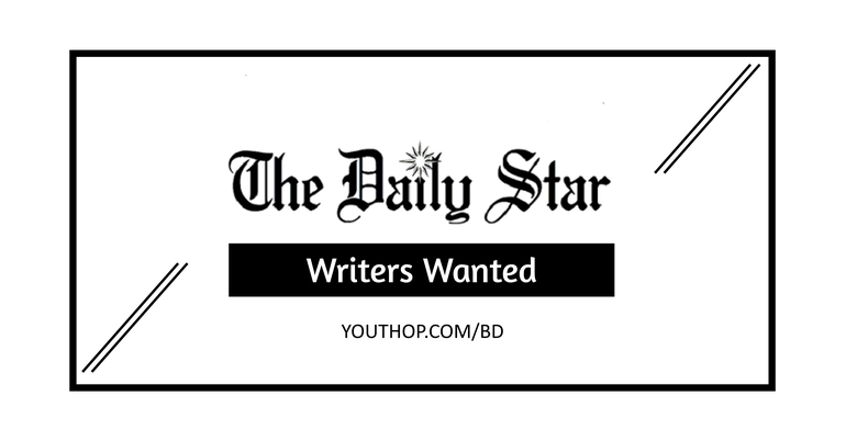The Daily Star is looking for writers | Section - Food, Travel, Fashion