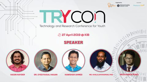 TRY Con (Technology and Research Conference for Youth) 2019 in Dhaka