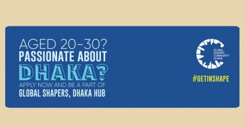 Join the Global Shapers community of Dhaka Hub