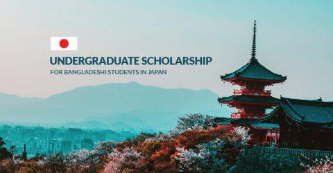 MEXT 2020 Undergraduate Students Scholarship in Japan